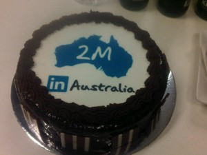 2 Million Linkedin users in Australia
