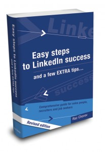 Easy steps to Linkedin Success (book cover)