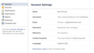 How to download Facebook Data