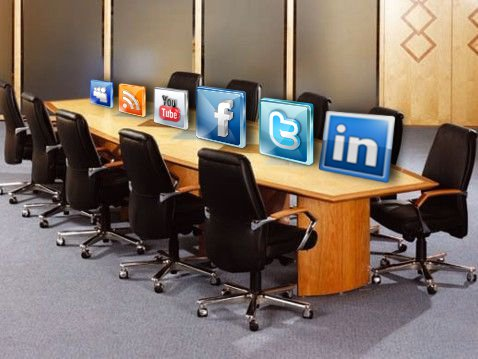 social media in the boardroom